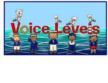 Voice Level Chart (Nautical)