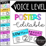 Voice Level Chart- Posters