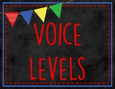 Voice Level Chart {Primary Colors}