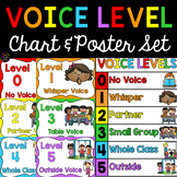 Voice Level Chart and Posters
