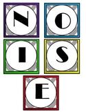 Voice Level Charts - Set Noise Level Expectations Anchor Charts