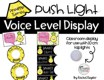Voice Level Display- Pineapple Themed