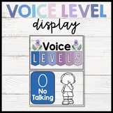 Voice Level Display (Purple and Blue)