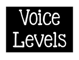 Voice Level Expectations