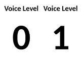 Voice Level Flip Chart (quick-prep, cheap, simple)