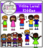 Voice Level Kiddies (The Price of Teaching Clipart Set)
