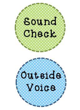 Voice Level Polka Dot Chart
