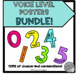 Voice Level Poster BUNDLE!