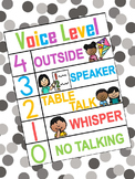 Voice Level Poster / Chart