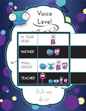 Voice Level Poster - Little Monster Theme - Classroom Management
