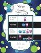 Voice Level Poster - Little Monster Theme - Classroom Management