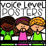 Voice Level Posters EDITABLE