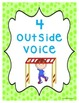 Voice Level Posters - Bright Color Dots