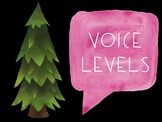 Voice Level Posters - Camping Themed