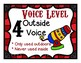 Voice Level Posters Circus Theme