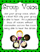 Voice Level Posters (Classroom Management)