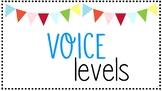 Voice Level Posters - Classroom Noise Management