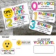 Voice Level Posters- Emoji Theme