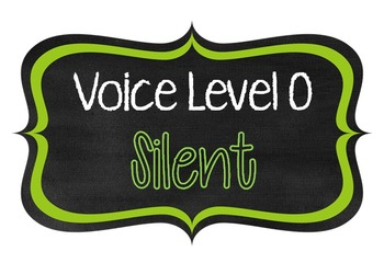 Voice Level Posters {FREE!}