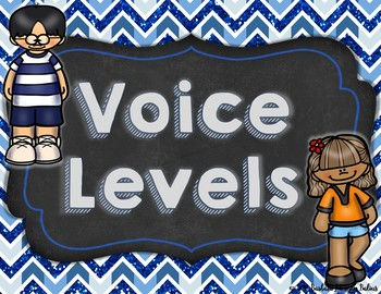 Voice Level Chart Posters FREEBIE