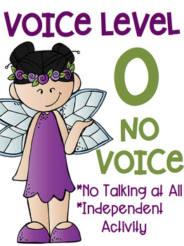 Voice Level Posters Fairy Theme Melonheadz Clip Art Class Management