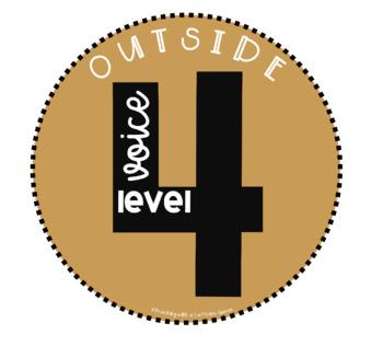 Voice Level Posters - Jewel Theme - 5 Styles