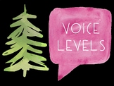 Voice Level Posters - Mountain Themed
