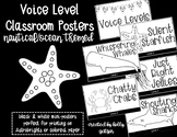 Voice Level Posters: Nautical / Ocean Themed