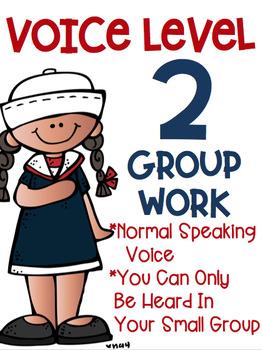 Voice Level Posters Nautical Theme Class Management