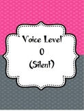 Voice Level Posters - Pink and Gray -