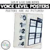 Voice Level Posters | Shiplap & Dunn Inspired