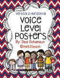 Voice Level Posters {Vertical & Horizontal} Red, White, Bl