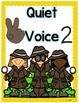 Voice Level Posters- With Number and Hand Symbols