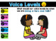 Voice Level Posters and Game