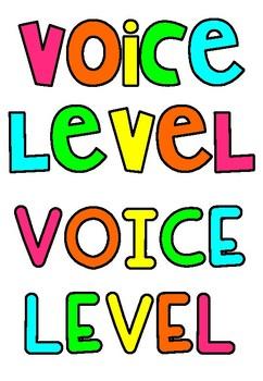 Voice Level Push Light Labels