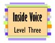 Voice Level Signs