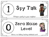 Voice Level Signs- Classroom Management Tool