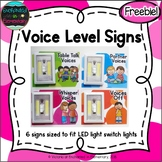 Voice Level Signs {Freebie!}