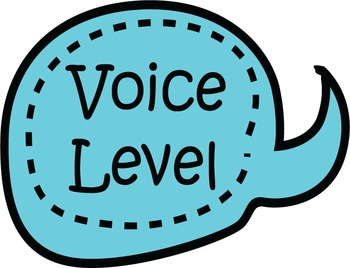 Voice Level Speech Bubbles