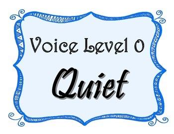 Voice Level Volume Control Classroom Management Printables