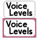 Voice Level and Input Protocol Posters