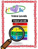 Voice Levels with song