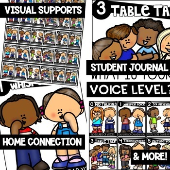 Voice Levels - Character Education | Social Emotional Learning SEL