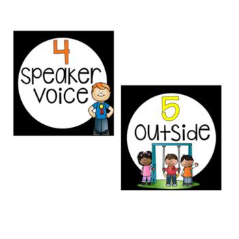 Editable Voice Level Charts