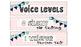 Voice Levels Chevron