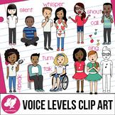 Voice Levels Clip Art
