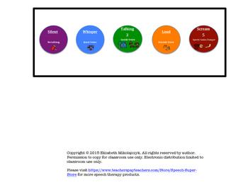 Voice Levels - Desk Version