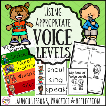 Voice Levels Lessons, Chart, and Practice Activities