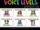 Voice Levels Poster Chart