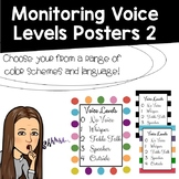 Monitoring Voice Levels Posters II